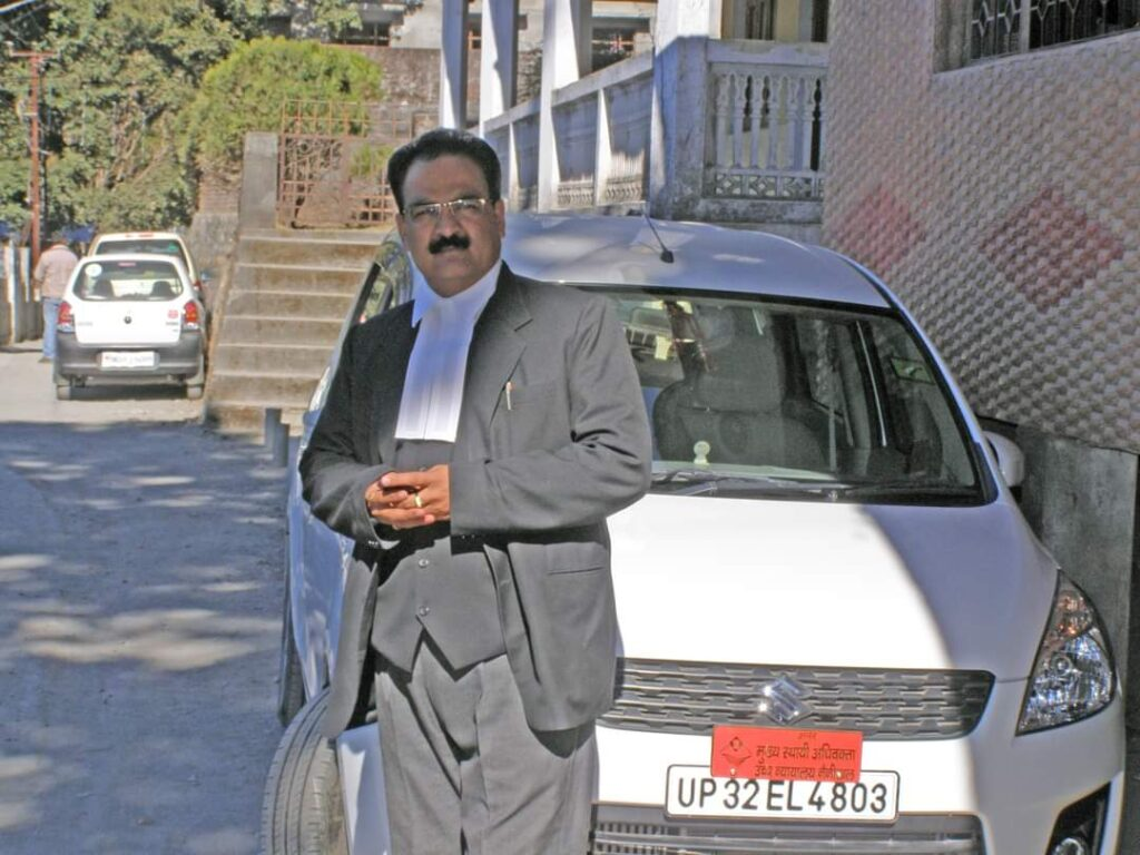 उत्तराखंड हाईकोर्ट के सीएससी त्रिपाठी का निधन- अधिवक्ता व न्यायिक जगत में शोक की लहर